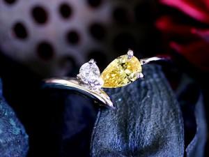 カラーダイヤモンド Luciole Collection 001