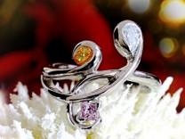 カラーダイヤモンド Luciole Collection 044