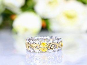 カラーダイヤモンドLuciole Collection 052