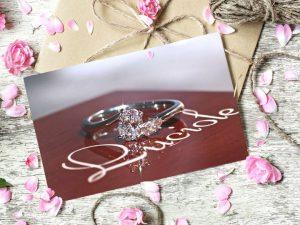 カラーダイヤモンドLuciole bridal 028