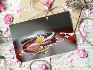 カラーダイヤモンドLuciole bridal 027