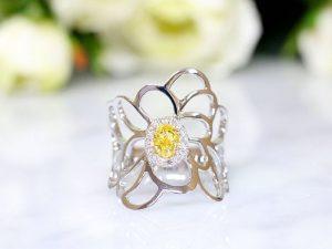カラーダイヤモンドLuciole Collection 074