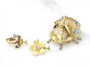 カラーダイヤモンドLuciole Collection 134
