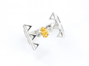 カラーダイヤモンドLuciole Collection 139